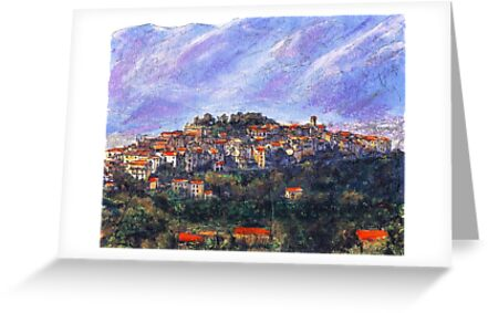 Sketch of Potenza by Randy Sprout