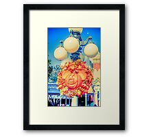Pumpkin Mouse Framed Print