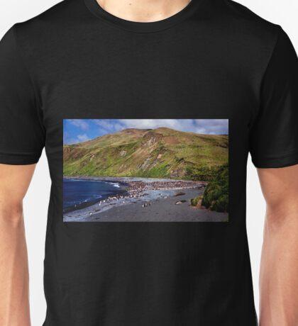 Macquarie Island Beach Unisex T-Shirt