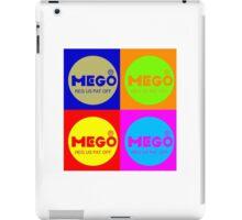 Vintage Mego, vintage Warhol style! iPad Case/Skin