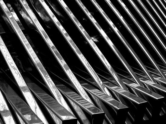 Chrome Ribbed - By. Jonny McKinnon by Jonny  McKinnon
