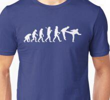 Teevolution Kick White Unisex T-Shirt