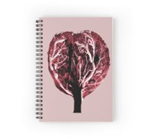 Tree of Life Red Tones Spiral Notebook