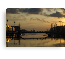 Sunset on the Celtic Tiger Canvas Print