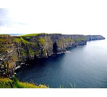 The Mighty Cliffs of Moher.... Photographic Print