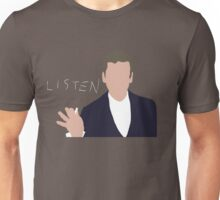 Doctor Who, 12, Listen Unisex T-Shirt