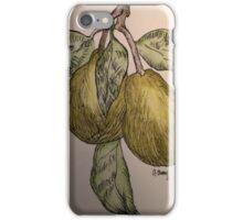 pair of pears iPhone Case/Skin