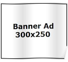 Banner ad Poster