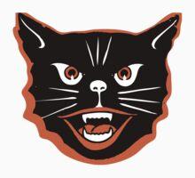 Halloween Cat Kids Tee