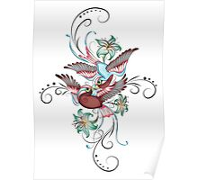 Enchanted Sparrows Poster