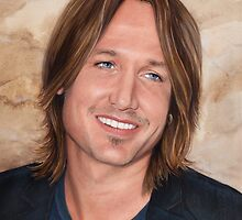 Keith Urban - art poster 2 by Dacdacgirl
