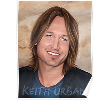 Keith Urban - art poster 2 Poster