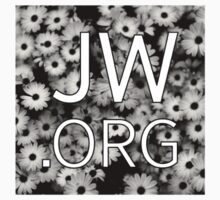 JW.org (black and white flowers) Kids Clothes