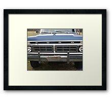 Built Ford Tough  Framed Print
