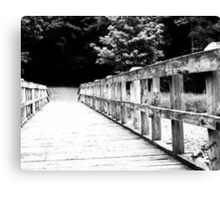 The Bridge Between Your Heart and Mine Canvas Print