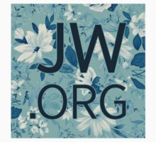 JW.org (white and blue flowers) Kids Tee