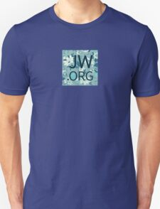 JW.org (white and blue flowers) T-Shirt