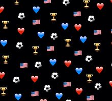 USWNT World Cup Emojis by Soccermerch
