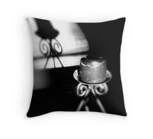 No Flame Without You Throw Pillow