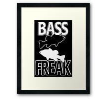 Bass Freak  Framed Print