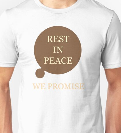 Rest In Peace, Doctor Who Unisex T-Shirt