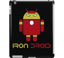 Iron Man + Android - Iron Droid Digital Design iPad Case/Skin