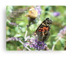 Blessed be the Lord Canvas Print