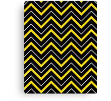 Sporty Chevron Canvas Print