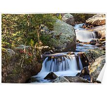Copeland Falls Rocky Mountain National Park Poster
