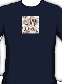 JW.org (peach rose and pink) T-Shirt