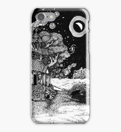 Along the Road to the Tower iPhone Case/Skin
