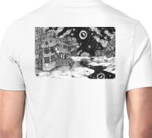 Along the Road to the Tower Unisex T-Shirt