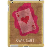 Minimalist Gambit iPad Case/Skin