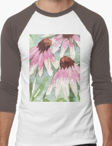 Daisies for healing Men's Baseball ¾ T-Shirt