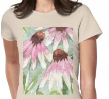 Daisies for healing Womens Fitted T-Shirt