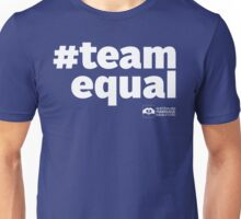 # Team Equal (White Text) Unisex T-Shirt