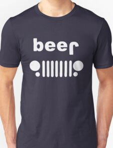 Beer Jeep Drinking Unisex T-Shirt