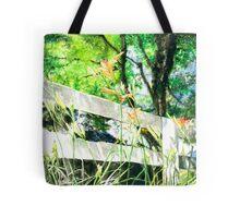 Appreciating Floral Prints Tote Bag