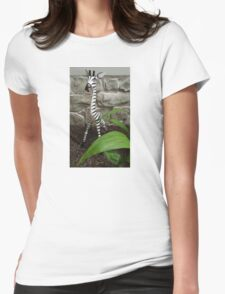 The Zebra of the House Womens Fitted T-Shirt