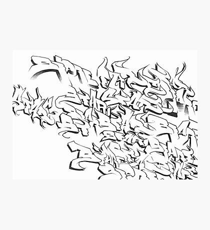 SFARE lettering Photographic Print