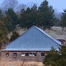 Old Barn and Silo by barnsis