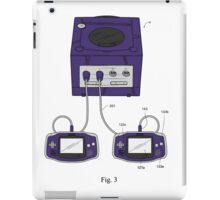 Game Boy Advance Gamecube Controller iPad Case/Skin
