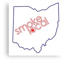 Smoke Local Weed in Columbus OH (Ohio) Canvas Print