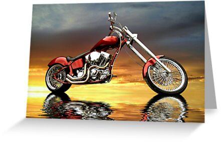 Chopper by Steven  Agius