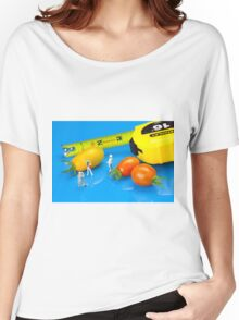 Tomato harvest little people and food Women's Relaxed Fit T-Shirt