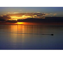 Gulf of St. Vincent Sunset Photographic Print