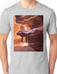 Beam of Antelope sand Unisex T-Shirt