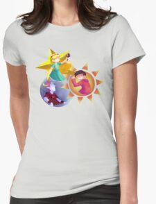 The Star, Sun and Moon Womens Fitted T-Shirt