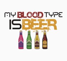 My Blood Type is Beer by brzt