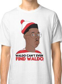 Waldo Can't Even Find waldo Classic T-Shirt